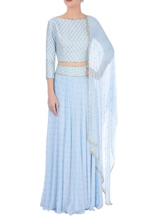 powder-blue-embellished-lehenga-set