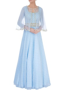 powder-blue-embellished-gown-cape