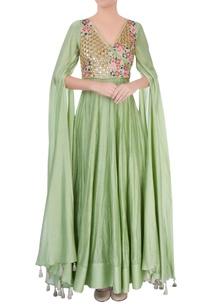 pastel-green-embellished-anarkali-gown