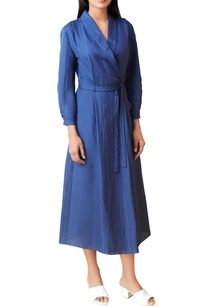 royal-blue-wrap-dress
