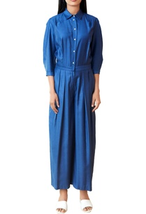 blue-button-down-jumpsuit