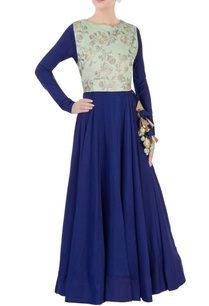 blue-anarkali-with-floral-embroidered-top