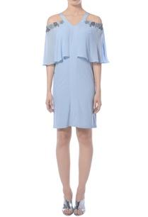 light-blue-embroidered-dress
