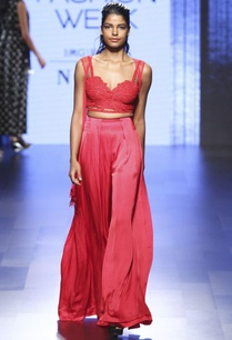 red-crop-top-palazzos-with-cape