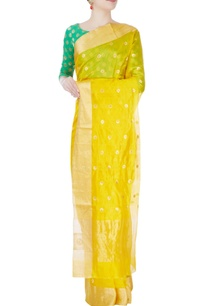 butter-yellow-mulberry-silk-sari