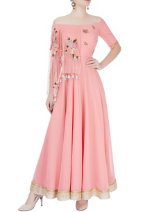peach-anarkali-with-zardozi-insect-motifs
