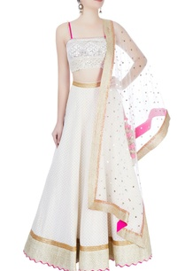 white-embellished-lehenga-set