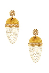 gold-white-kundan-dangler-earrings