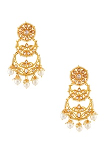 gold-plated-tiered-drop-earrings