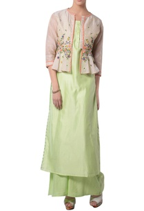 green-kurta-set-with-embroidered-jacket