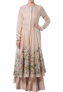 beige-anarkali-set-with-embroidery
