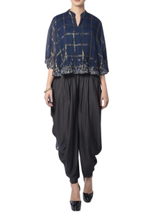 navy-blue-embroidered-pant-set