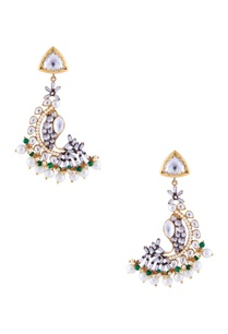 gold-earrings-with-kundan-and-pearls