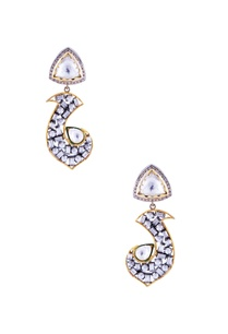gold-earrings-with-kundan