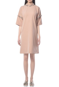 beige-dress-with-embellishments