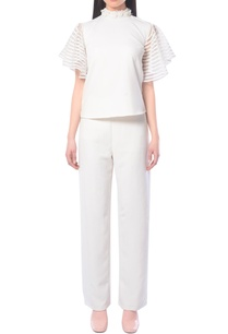 white-frill-top-with-pants