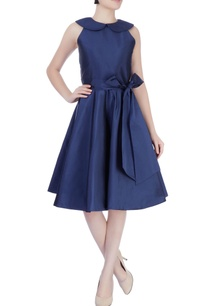 navy-blue-skater-dress