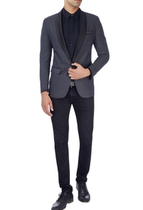 navy-blue-tuxedo-suit-in-polka-dot-print