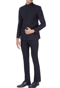 black-bandhgala-suit