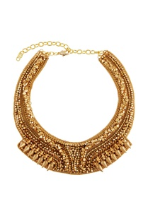 gold-plated-coin-bead-bib-necklace