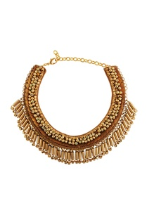 gold-plated-coin-bead-necklace