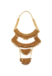 gold-plated-multiple-necklace