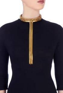 gold-plated-choker-with-coin-motifs