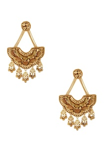 gold-plated-long-earrings-with-beads