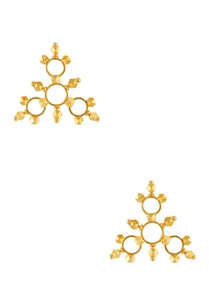 gold-plated-triangular-shape-earrings