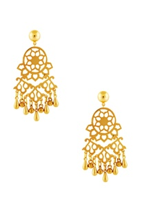 gold-plated-earrings-with-bead-accents