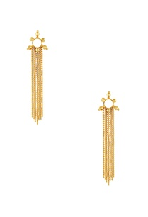 gold-plated-earrings-with-long-chain-accents