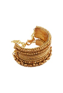 gold-plated-statement-wide-bangle