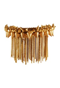 gold-plated-spiky-stud-bangle
