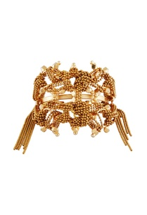 gold-plated-triangular-motif-bangle