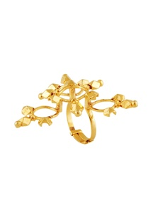 gold-plated-triangular-shaped-ring