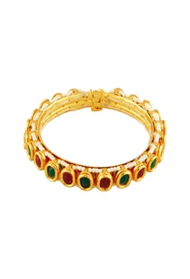 gold-bangle-with-purple-teal-stones