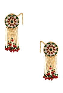 green-meenakari-work-drop-earrings