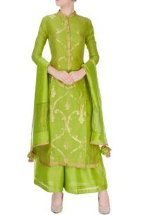 green-anarkali-suit-in-ancient-zari-goldwork