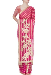 pink-printed-sari-with-blouse