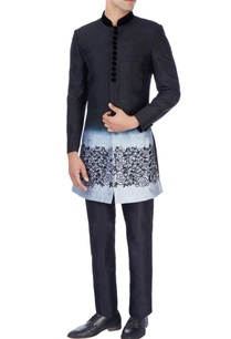 black-gray-sherwani-trousers