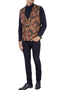 multi-colored-floral-print-vest