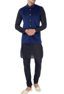 navy-blue-laser-design-bandi-jacket