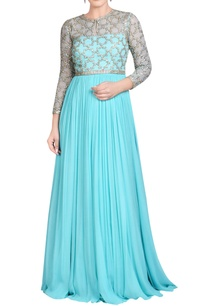 aqua-blue-gown-with-jaal-embroidery
