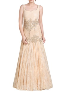 light-peach-embroidered-gown
