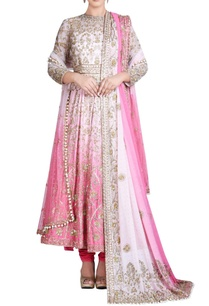 pink-white-shaded-anarkali-set-with-embroidery