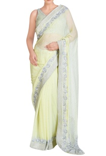 light-yellow-sari-set-with-sequin-embroidery