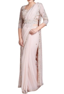 blush-pink-embroidered-sari-set-with-jacket