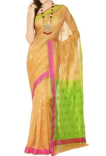 peach-sari-with-gold-motifs