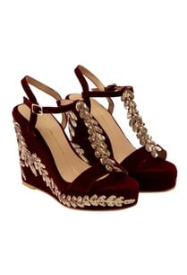 maroon-sequin-embroidered-wedges