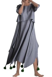 grey-asymmetric-maxi-dress